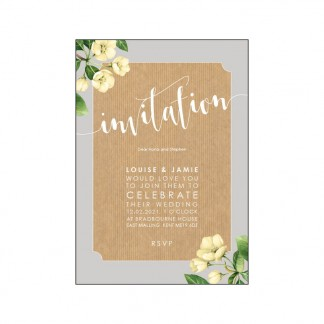 botanicals invite yellow