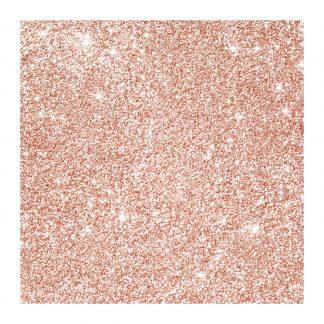 Celeb rose gold glitter