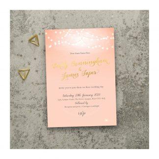 Nightglow invites photo pink